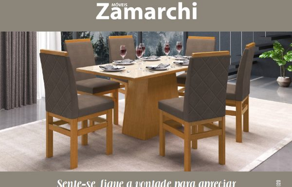 Móveis Zamarchi – Mesas com Cadeiras